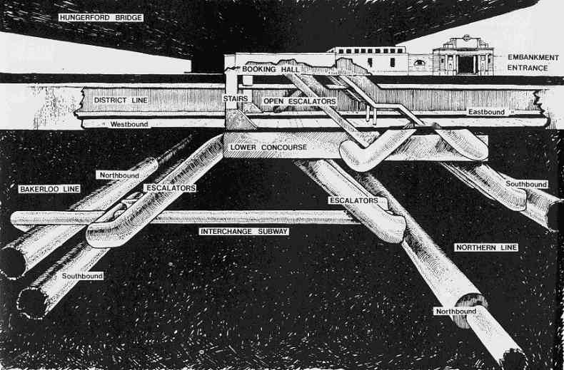 Underground Tube Station Maps